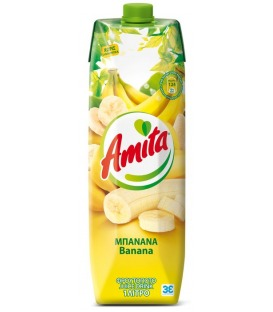 AMITA ΜΠΑΝΑΝΑ 1LT